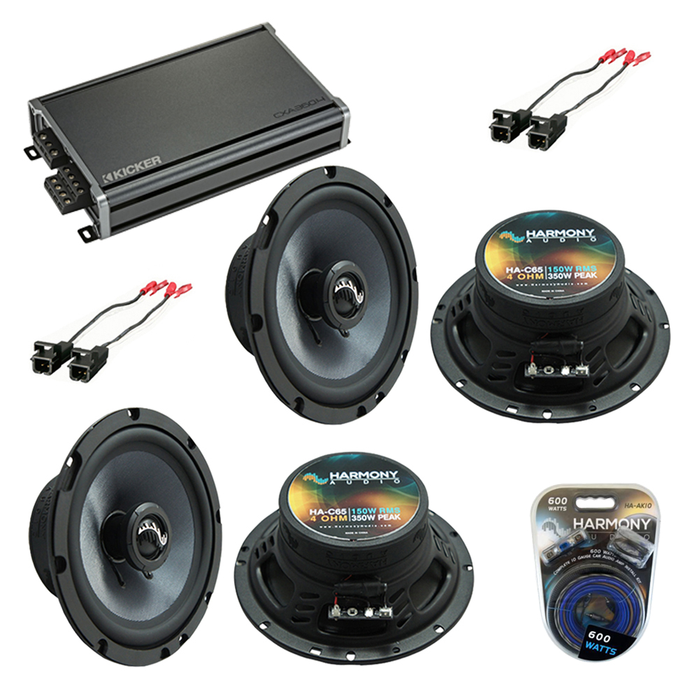 Compatible with Chevy Astro Van 1996-2005 Factory Speakers Replacement Harmony (2) C65 & CX3004