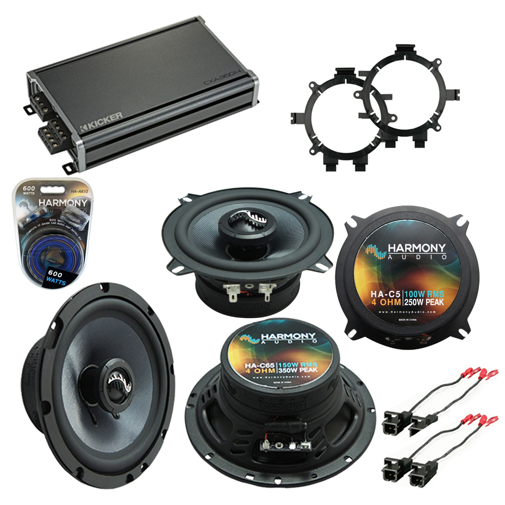 Fits Chevy Avalanche 2002-2006 OEM Premium Speaker Replacement Harmony C5 C65 & CXA300.4