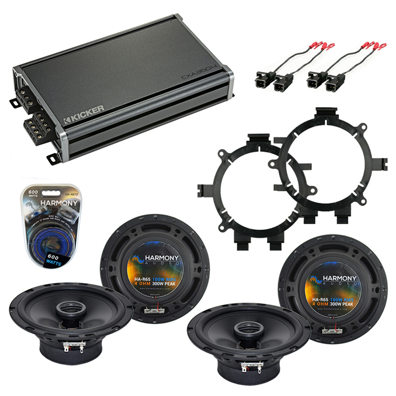 Compatible with Chevy Avalanche 2002-2006 OEM Speaker Replacement Harmony R5 R65 & CXA300.4 Amp