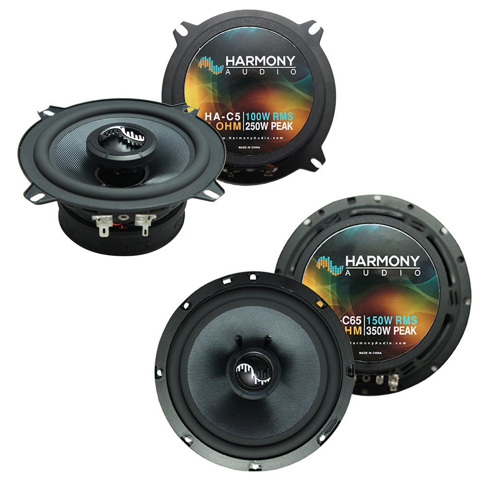 Harmony Audio Bundle Compatible with 2007-2013 Chevy Avalanche HA-C65 HA-C5 New Premium Factory Speaker Replacement Upgrade Package