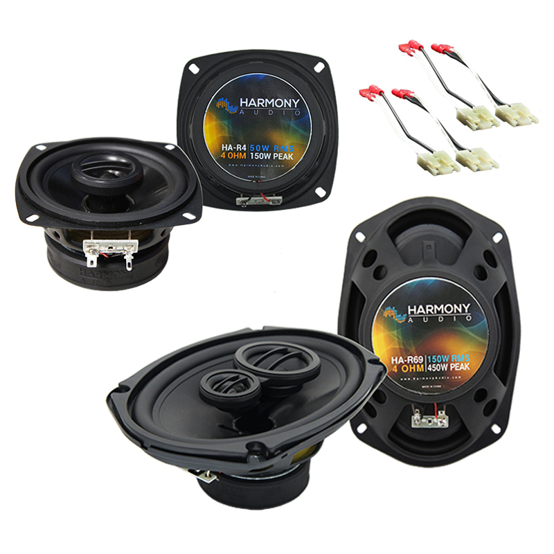 Chevy Beretta 1988-1990 Factory Speaker Upgrade Harmony R4 R69 Package New
