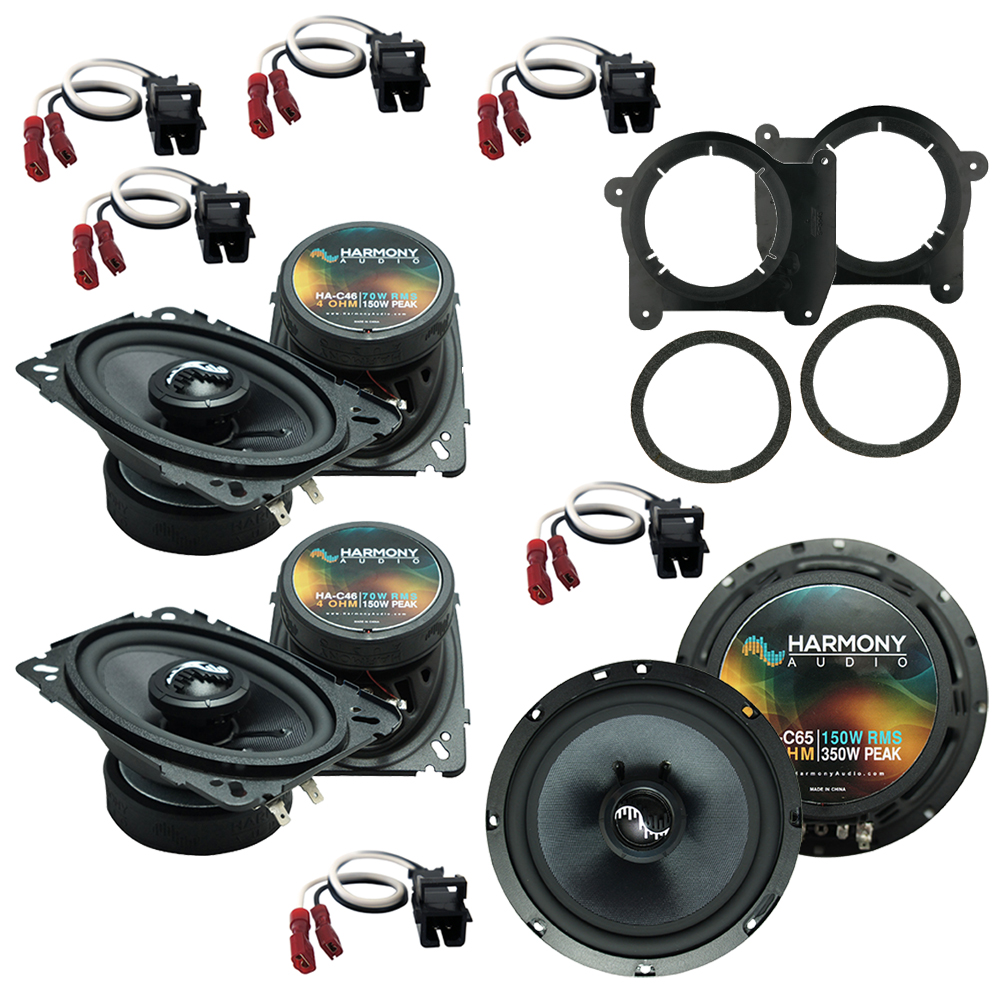 Fits Chevy Blazer 1998-2005 Factory Premium Speaker Upgrade Harmony (2)C46 C65 Package