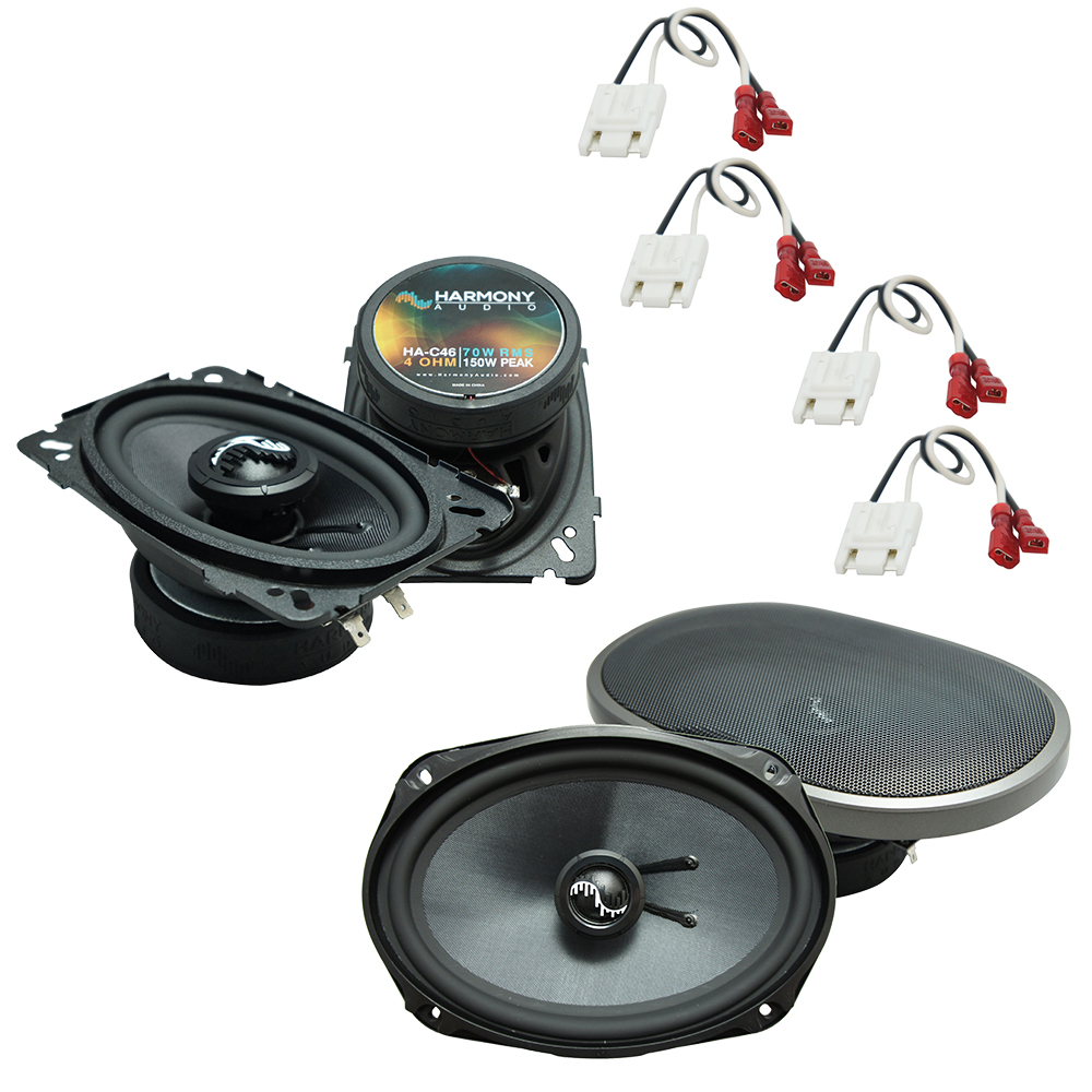 Fits Chevy Caprice 1991-1993 Factory Premium Speaker Upgrade Harmony C46 C69 Package New