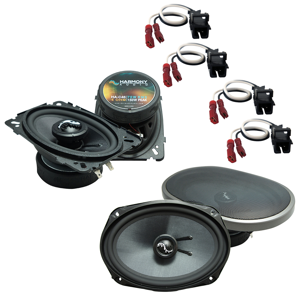 Fits Chevy Caprice 1994-1996 Factory Premium Speaker Upgrade Harmony C46 C69 Package New