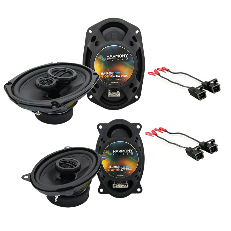 Chevy Caprice 1994-1996 Factory Speaker Upgrade Harmony R46 R69 Package New