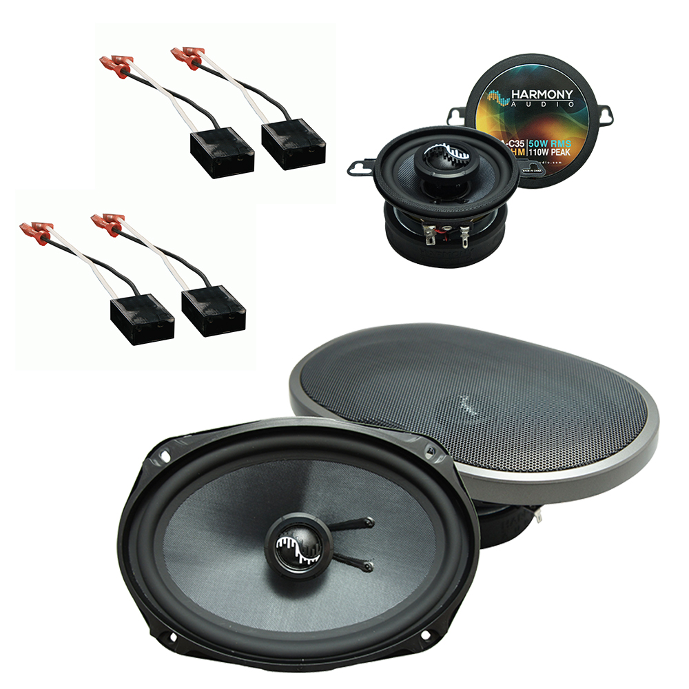 Fits Chevy Cavalier 1991-1994 Factory Premium Speaker Upgrade Harmony C35 C69 Package
