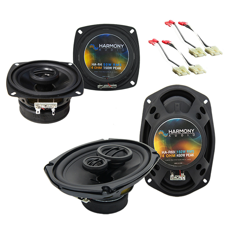 Chevy Corsica 1988-1990 Factory Speaker Upgrade Harmony R4 R69 Package New