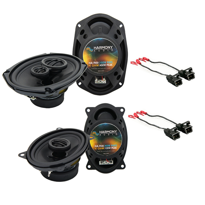 Chevy Corsica 1991-1996 Factory Speaker Upgrade Harmony R46 R69 Package New