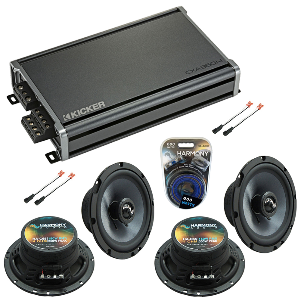 Compatible with Chevy Corvette 1997-2004 Factory Speakers Replacement Harmony (2) C65 & CXA3004