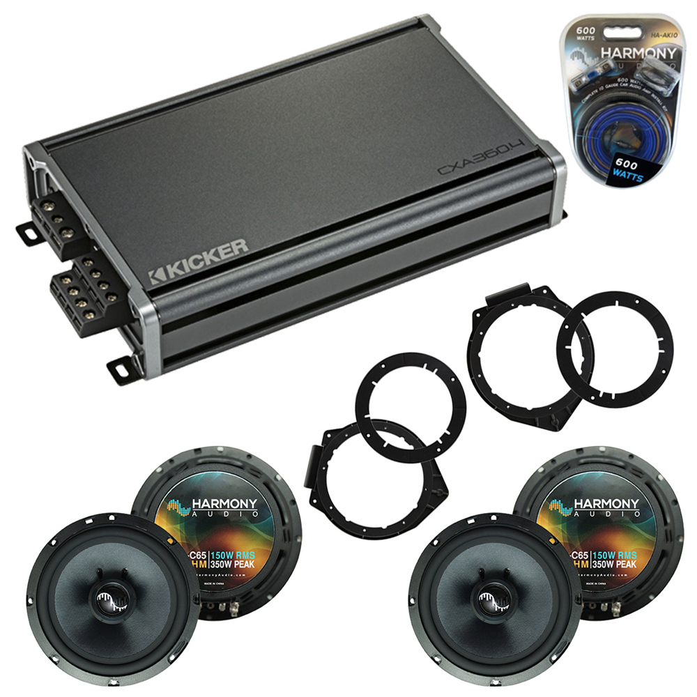 Compatible with Chevy Express 2008-2017 OEM Speakers Replacement Harmony (2) C65 & CXA300.4
