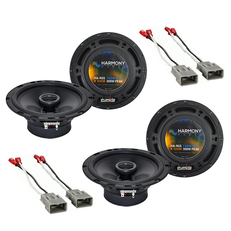 Harmony Audio Bundle Compatible With 1999-2003 Acura TL HA-R65 Car Stereo Replacement, and HA-727800 Speaker Replacement Harness
