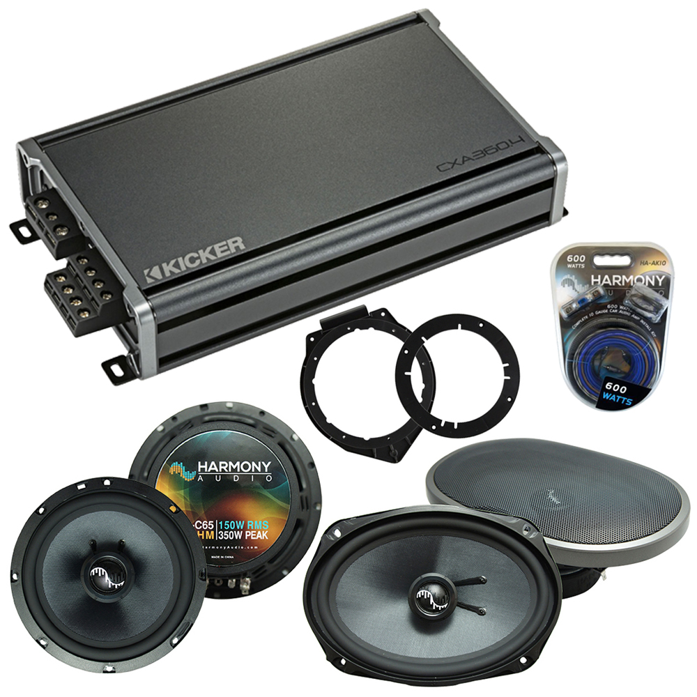 Compatible with Chevy Malibu 2008-2012 Factory Speakers Replacement Harmony C65 C69 & CXA300.4
