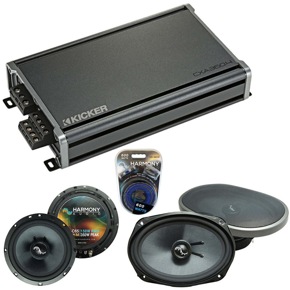 Compatible with Acura TL 2004-2008 Factory Speakers Replacement Harmony C65 C69 & CXA300.4