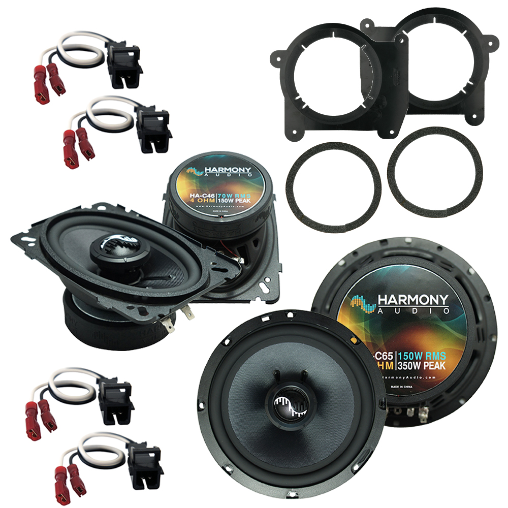 Fits Chevy S-10 Truck 1994-2001 OEM Premium Speaker Upgrade Harmony C46 C65 Package New