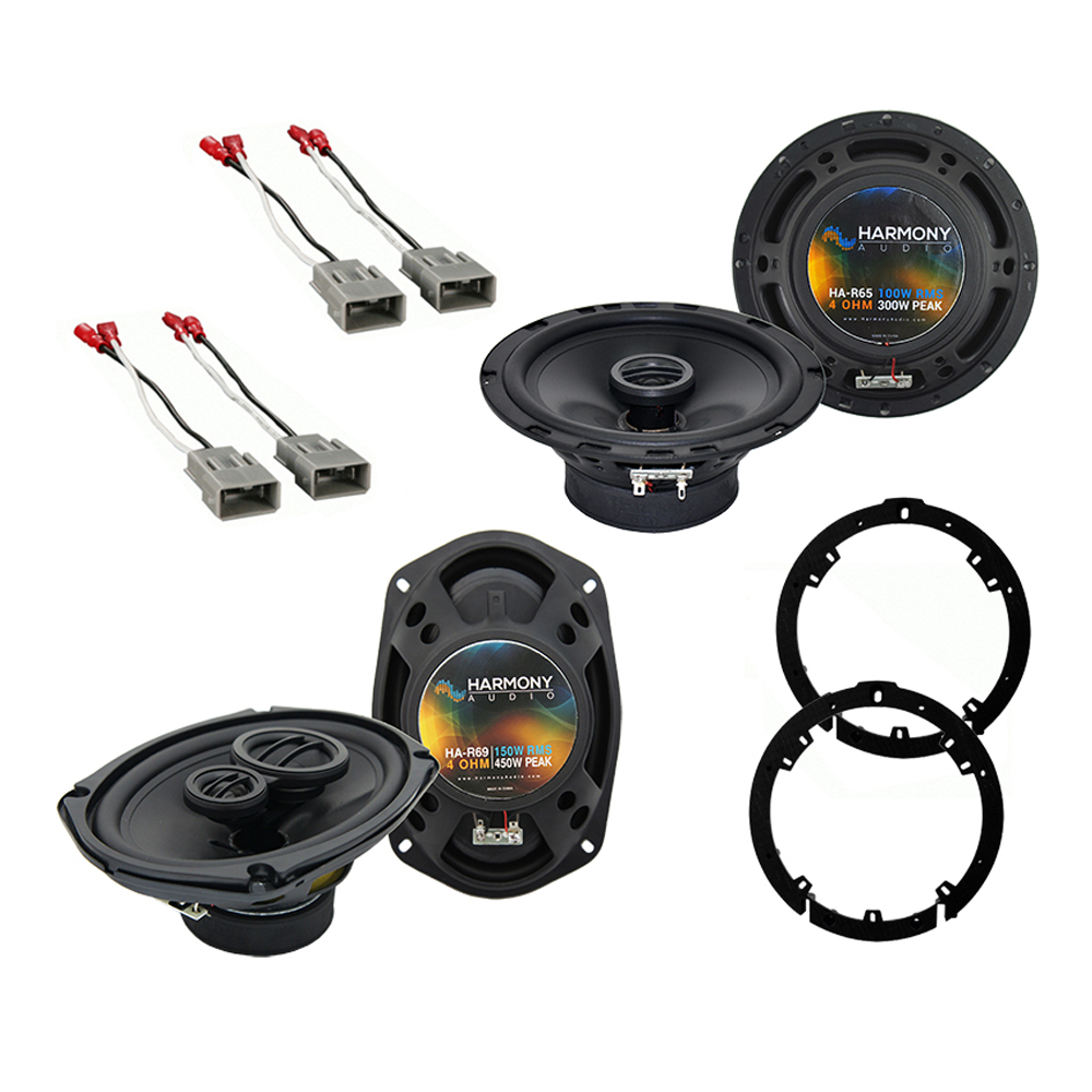 Acura TL 2009-2014 Factory Speaker Replacement Harmony R65