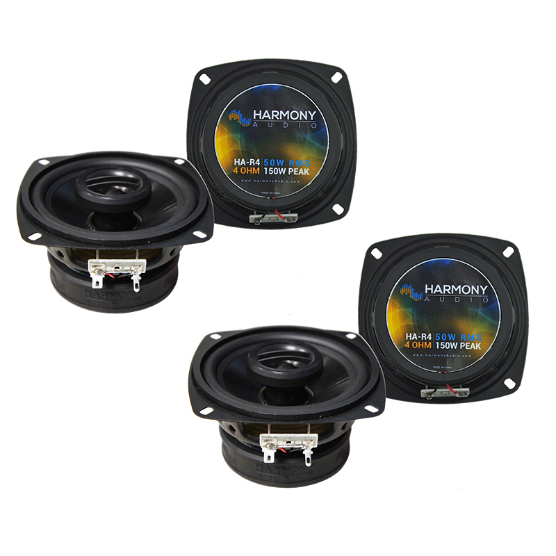 Chevy Spectrum 1985-1989 Factory Speaker Replacement Harmony (2) R4 Package New