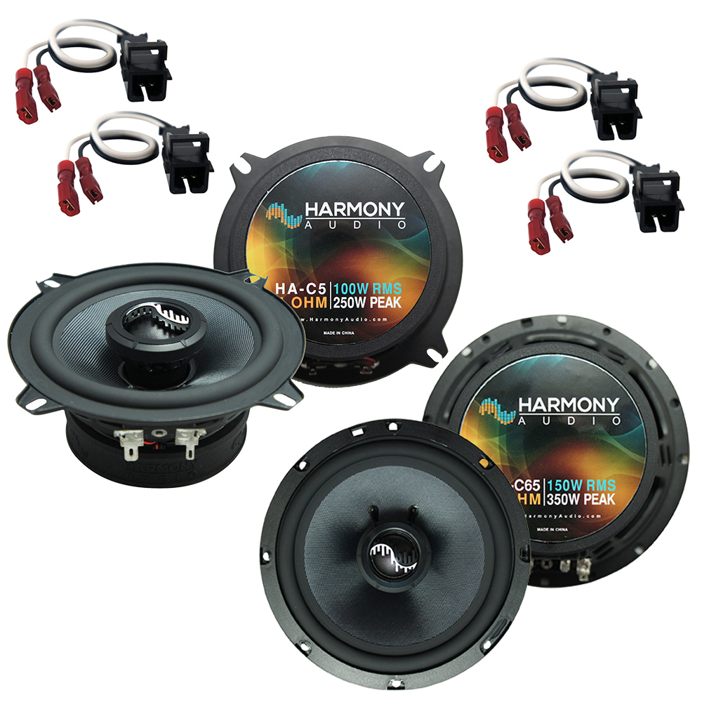 Harmony Audio Compatible With 2007-14 Chevy Tahoe HA-C65 HA-C5 New Factory Speaker Replacement Premium Upgrade Package