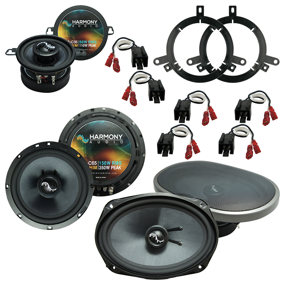 Fits Chrysler Concorde 1998-2001 Factory Speaker Upgrade Harmony Premium Speakers New
