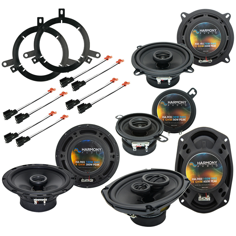 Chrysler Concorde 2002-2004 Factory Speaker Upgrade Harmony Speakers Package New