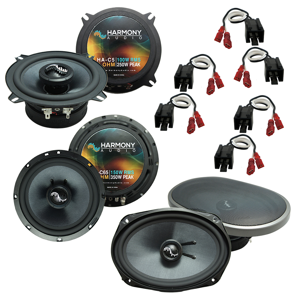 Fits Chrysler Town & Country 2002-2007 Factory Speaker Upgrade Harmony Premium Speakers