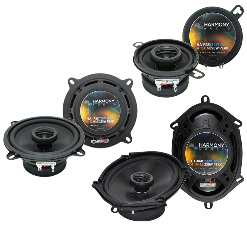 Dodge Aries 1984-1989 Factory Speaker Replacement Harmony Upgrade Package New
