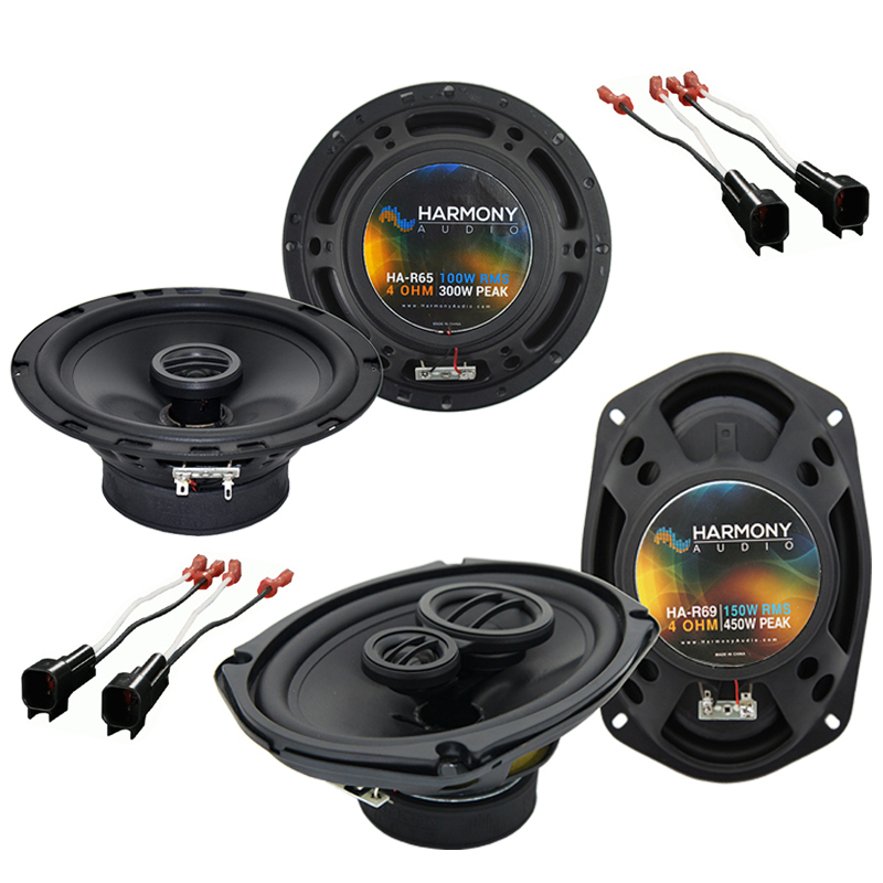 Dodge Avenger 1995-2000 Factory Speaker Upgrade Harmony R65 R69 Package New