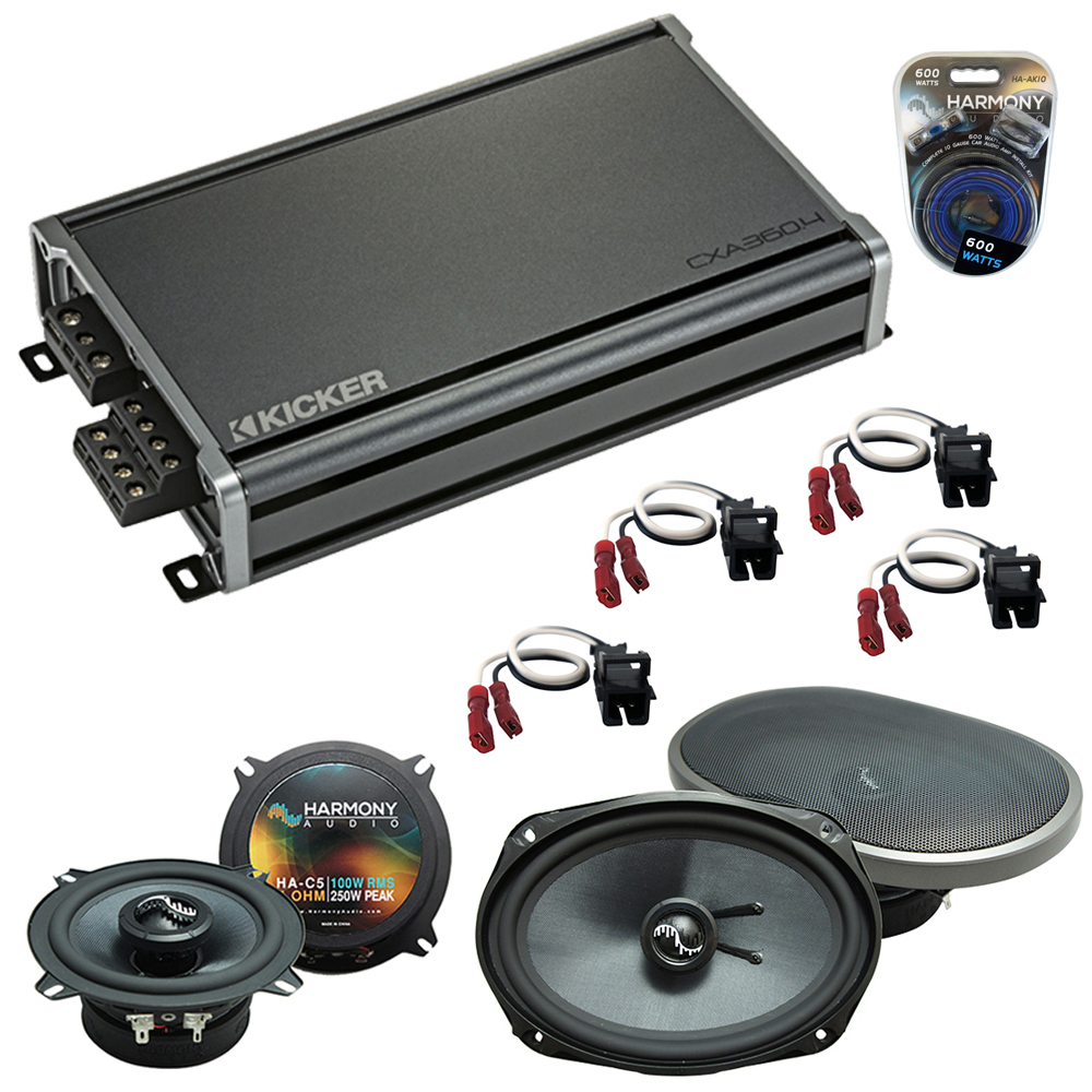 Compatible with Dodge Caravan 2001-2001 Factory Speakers Replacement Harmony C5 C69 & CXA360.4