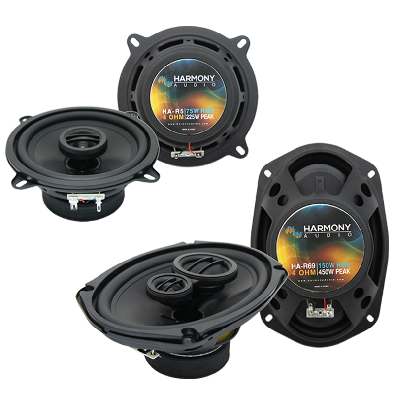 Dodge Charger 1974-1983 Factory Speaker Upgrade Harmony R5 R69 Package New