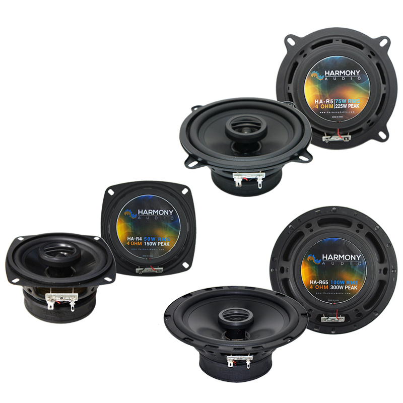 Dodge Colt 1985-1986 Factory Speaker Upgrade Harmony R5 R4 R65 Package New