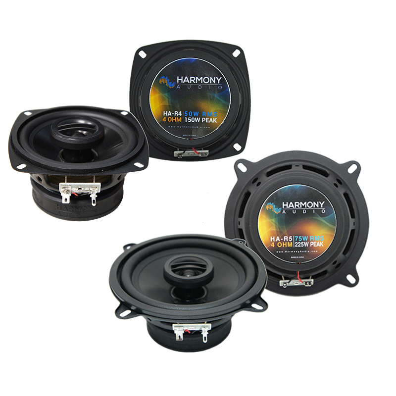 Alfa Romeo Milano 1986-1989 Factory Speaker Upgrade Harmony R4 R5 Package New