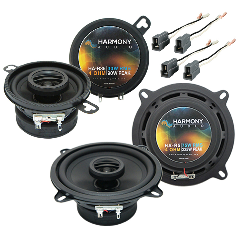 Dodge Colt Vista 1987-1991 Factory Speaker Upgrade Harmony R35 R5 Package New