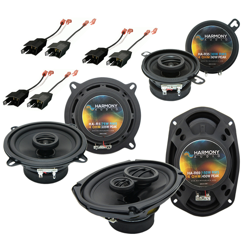 Dodge Dynasty 1988-1993 Factory Speaker Replacement Harmony Upgrade Package New