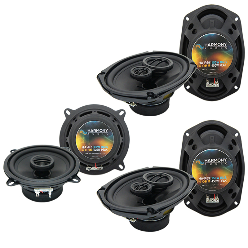 Dodge Grand Caravan 2008-2017 OEM Speaker Upgrade Harmony (2) R69 Package New