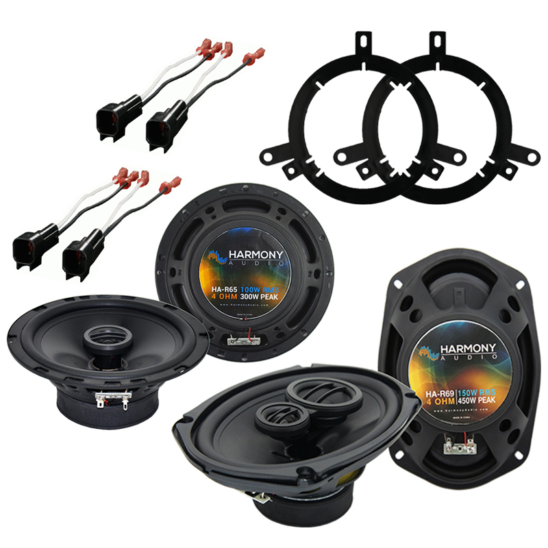 Dodge Intrepid 1998-2004 Factory Speaker Upgrade Harmony R65 R69 Package New