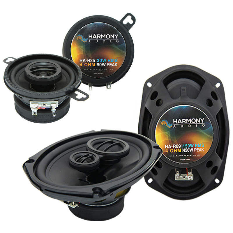 Dodge Mirada 1983-1983 Factory Speaker Upgrade Harmony R35 R69 Package New