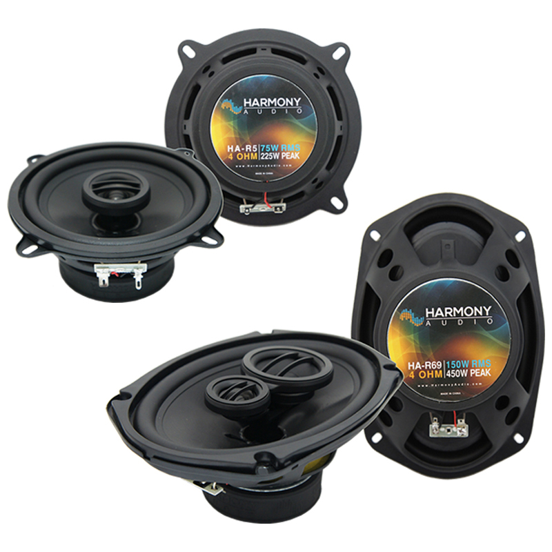 Dodge Monaco 1990-1992 Factory Speaker Upgrade Harmony R5 R69 Package New