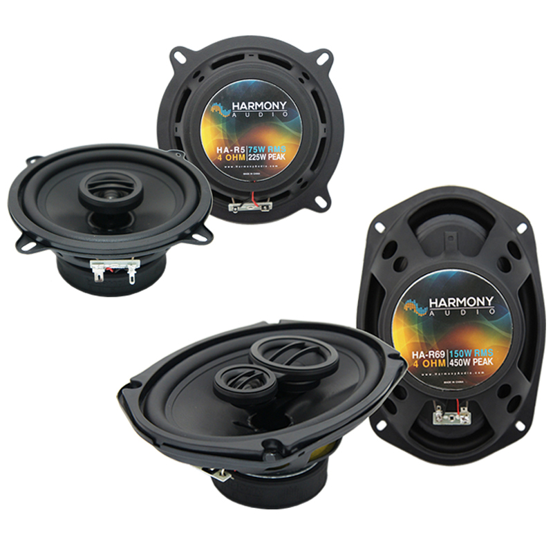 Dodge Ram Charger 1981-1983 OEM Speaker Upgrade Harmony R69 R5 Package New