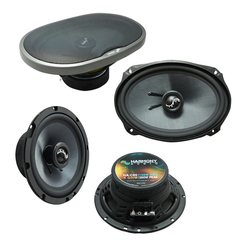 Fits Dodge Stealth 1990-1996 Factory Premium Speaker Upgrade Harmony C65 C69 Package New