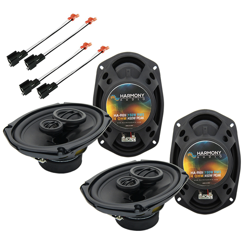 Dodge Stratus 2001-2006 Factory Speaker Replacement Harmony (2)R69 Package New