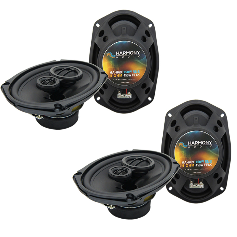 Dodge Van (Full Size) 1998-2003 Speaker Upgrade Harmony (2) R69 Package New