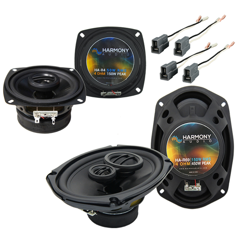 Eagle Summit 1988-1992 Factory Speaker Upgrade Harmony R4 R69 Package New