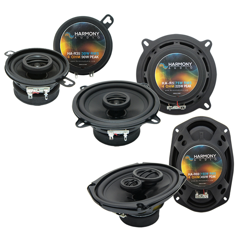 Eagle Vision 1993-1997 OEM Speaker Upgrade Harmony R5 R35 R69 Package New
