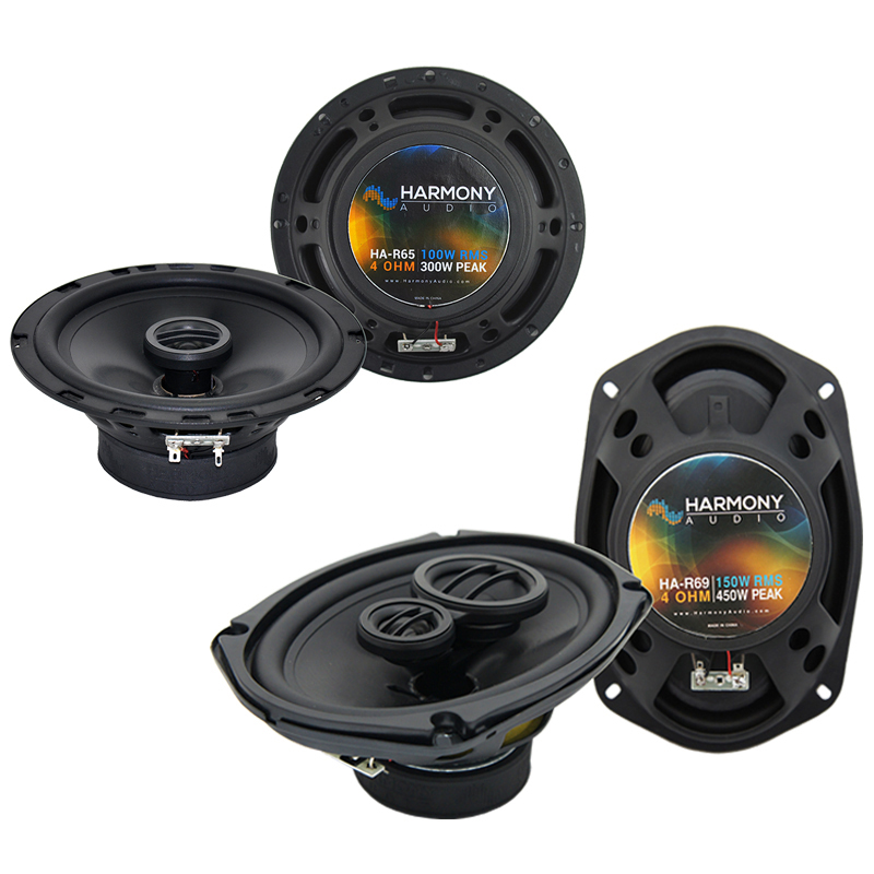 Ford Bronco (Full Size) 1973-1984 Speaker Upgrade Harmony R65 R68 Package New