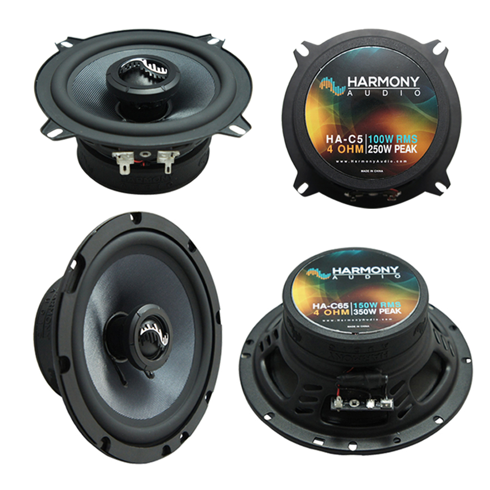 Details about Fits Audi A4 1996-2008 Factory Speakers Replacement Harmony  C5 C65 Coax Package
