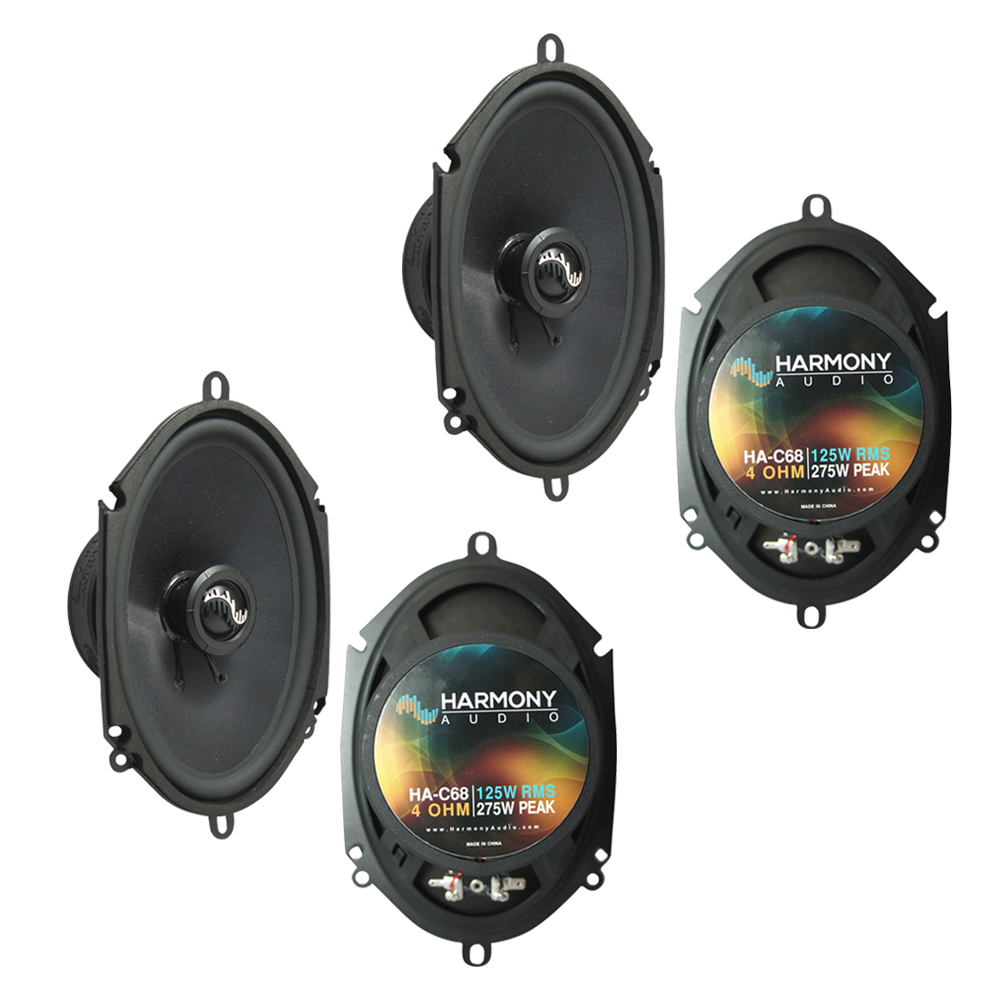 Fits Ford Focus 2008-2011 Factory Premium Speaker Replacement Harmony (2) C68 Package