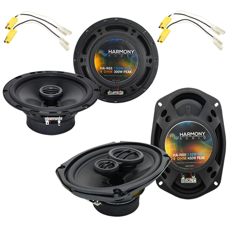 Ford F-Series Truck 1980-1981 Factory Speaker Replacement Harmony Speakers New