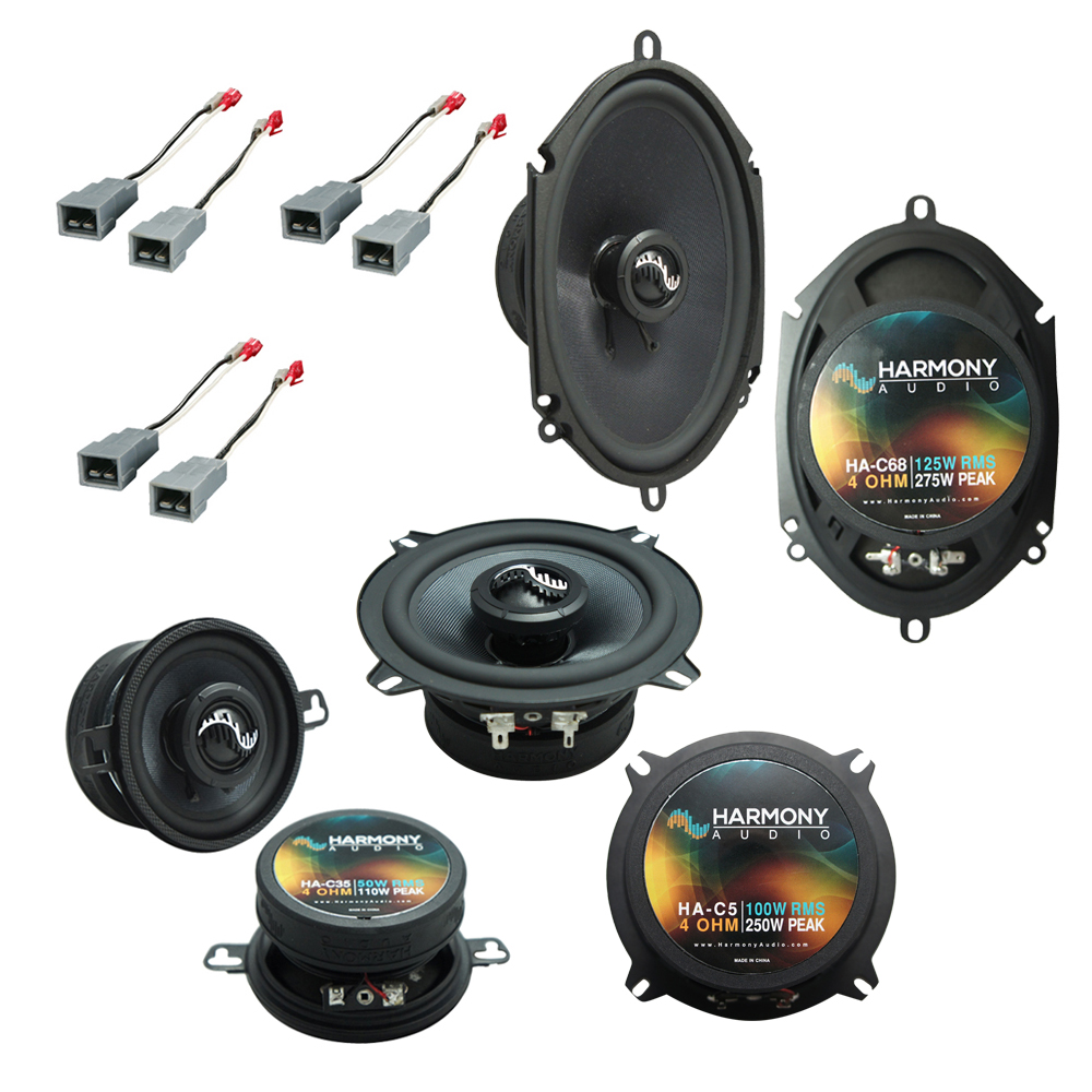 Fits Ford Mustang 1986-1993 Factory Premium Speaker Replacement Harmony C5 C35 C68 Pack