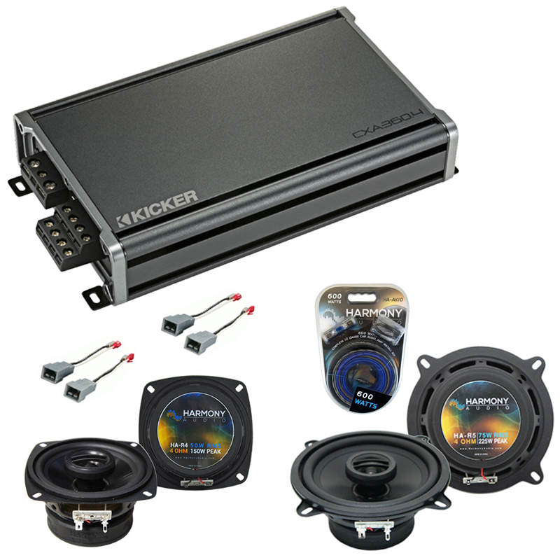 Compatible with Ford Ranger 1983-1988 Factory Speaker Replacement Harmony R4 R5 & CXA360.4 Amp