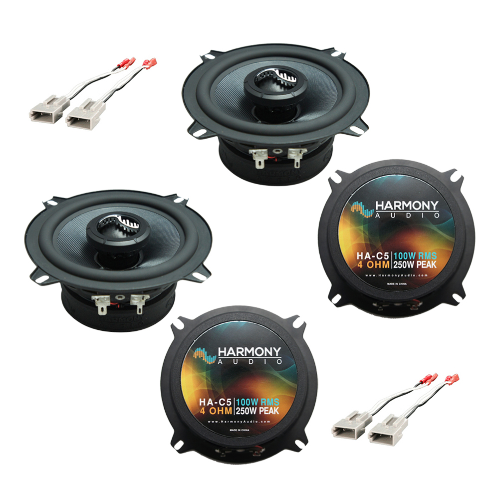 Harmony Audio Compatible With 1989-93 Ford Ranger (2) HA-C5 New Premium Factory Speaker Replacement Upgrade Package
