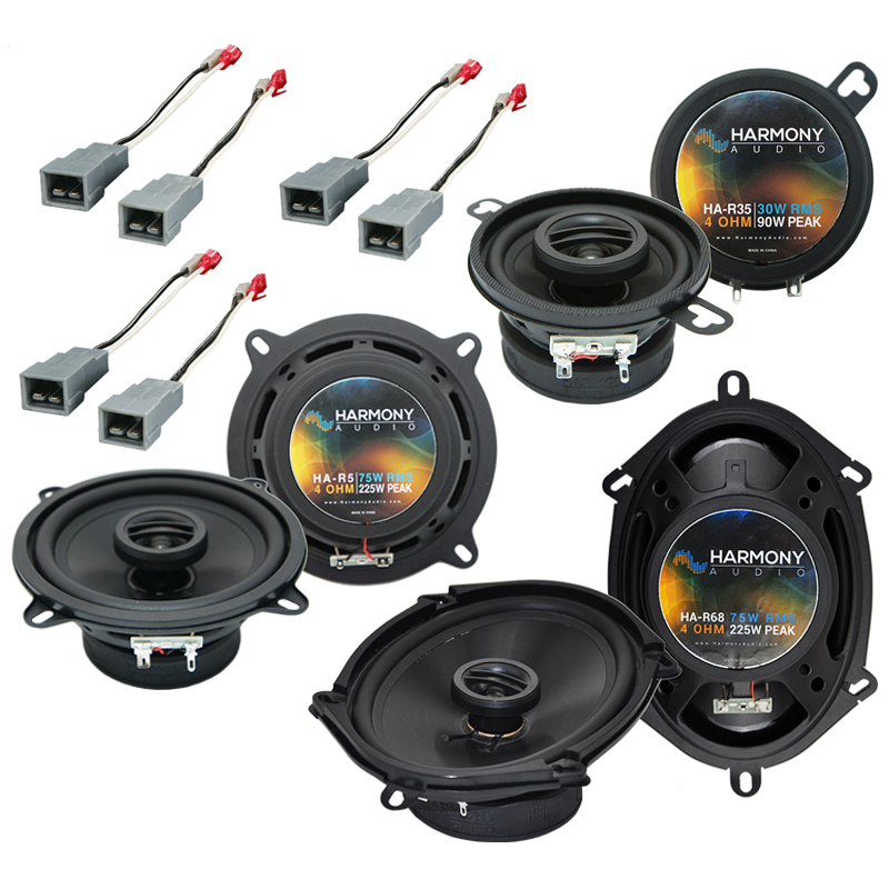 Ford Taurus 1986-1989 Factory Speaker Replacement Harmony Upgrade Package New
